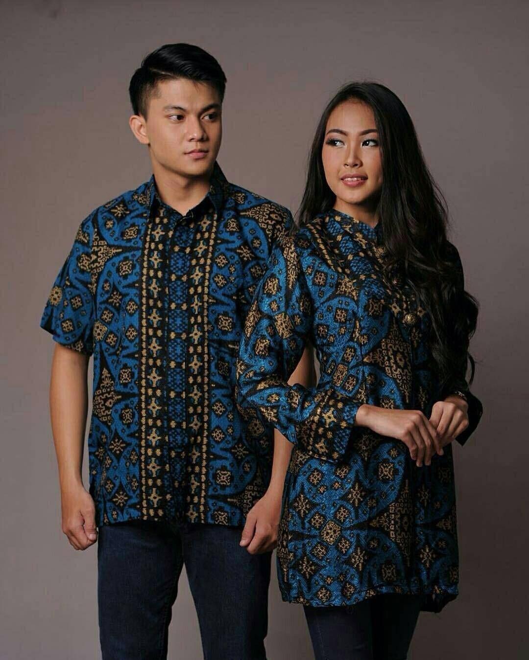 Baju Gamis Batik Couple
