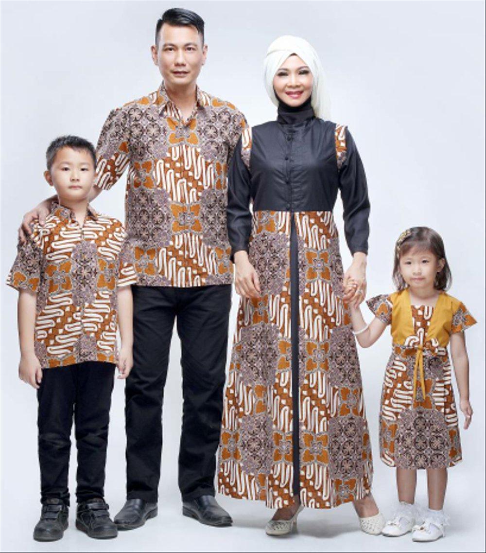baju batik couple keluarga