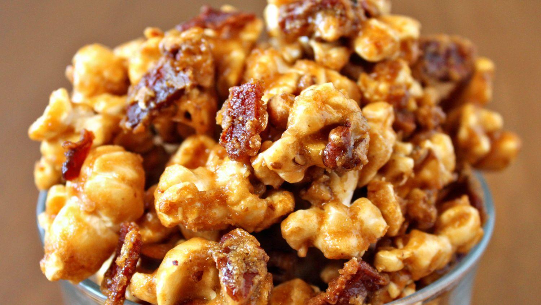 cara membuat popcorn caramel mudah