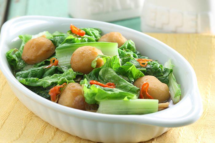 resep tumis bakso sayur