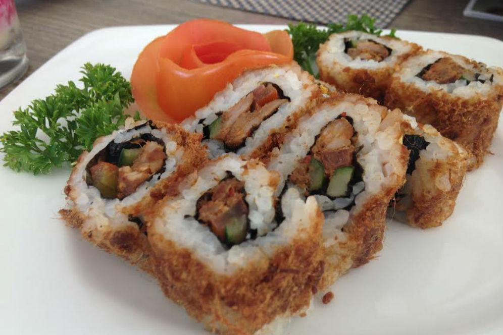 cara membuat sushi ala indonesia