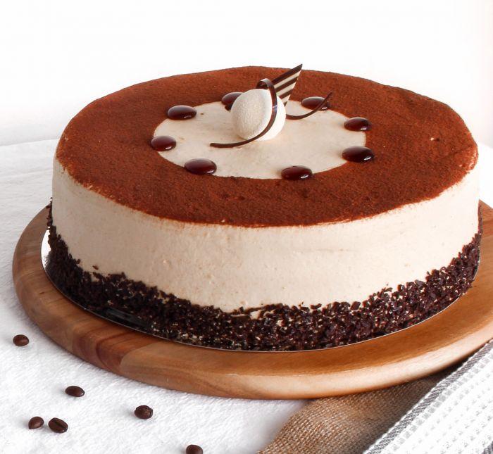 cara membuat cake glaze tiramisu