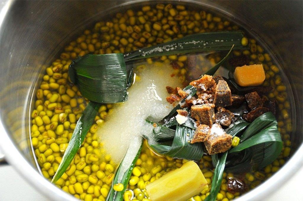 cara membuat kolak kacang hijau