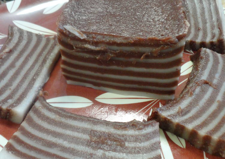 kue lapis kakao