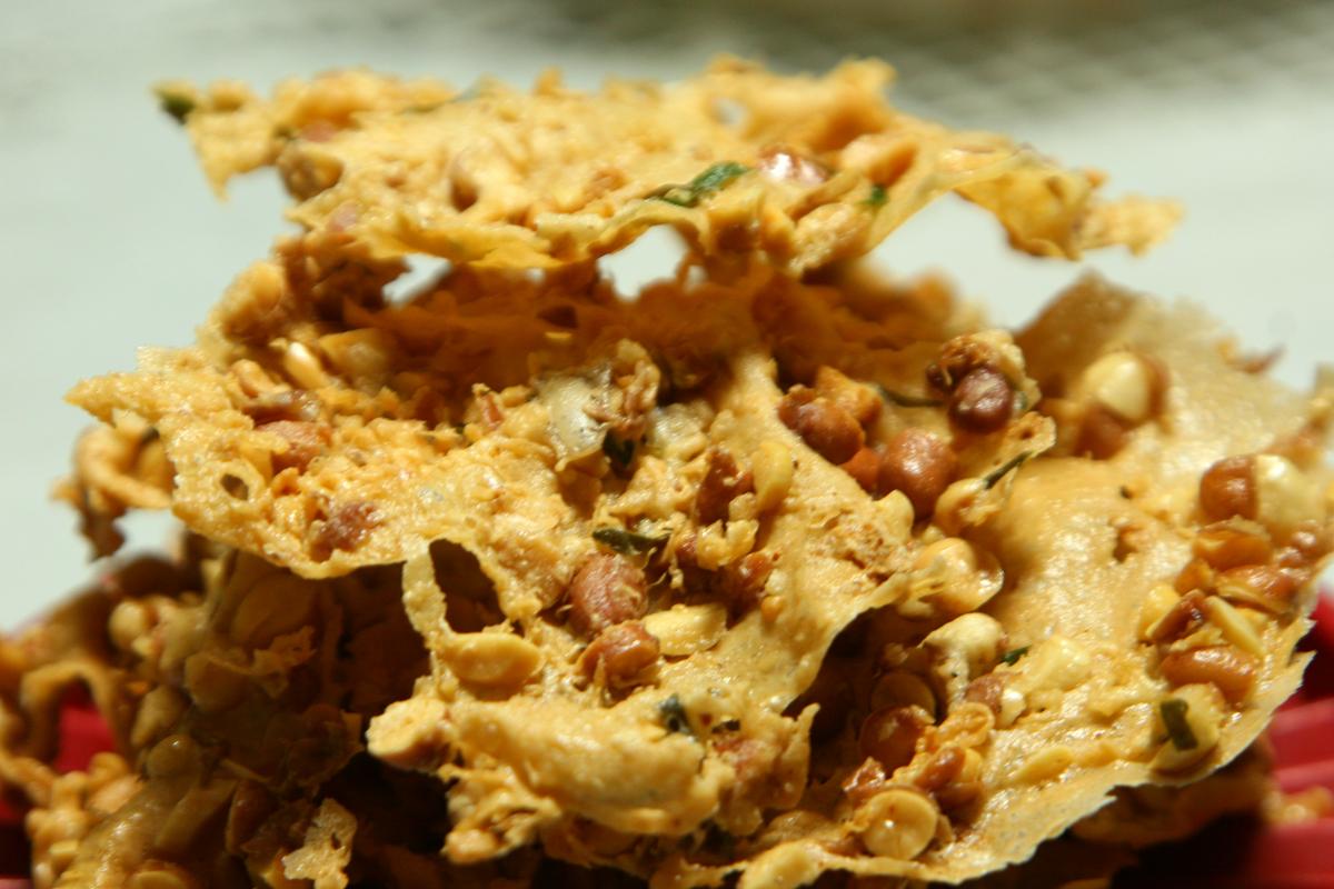 resep peyek kacang tanah