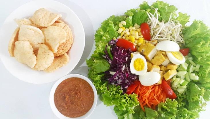 cara membuat selada bangka