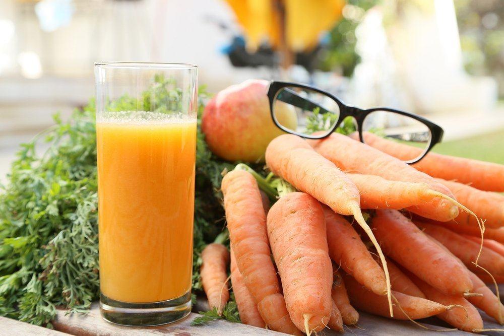 manfaat wortel untuk mata