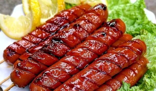 bumbu barbeque sosis bakar