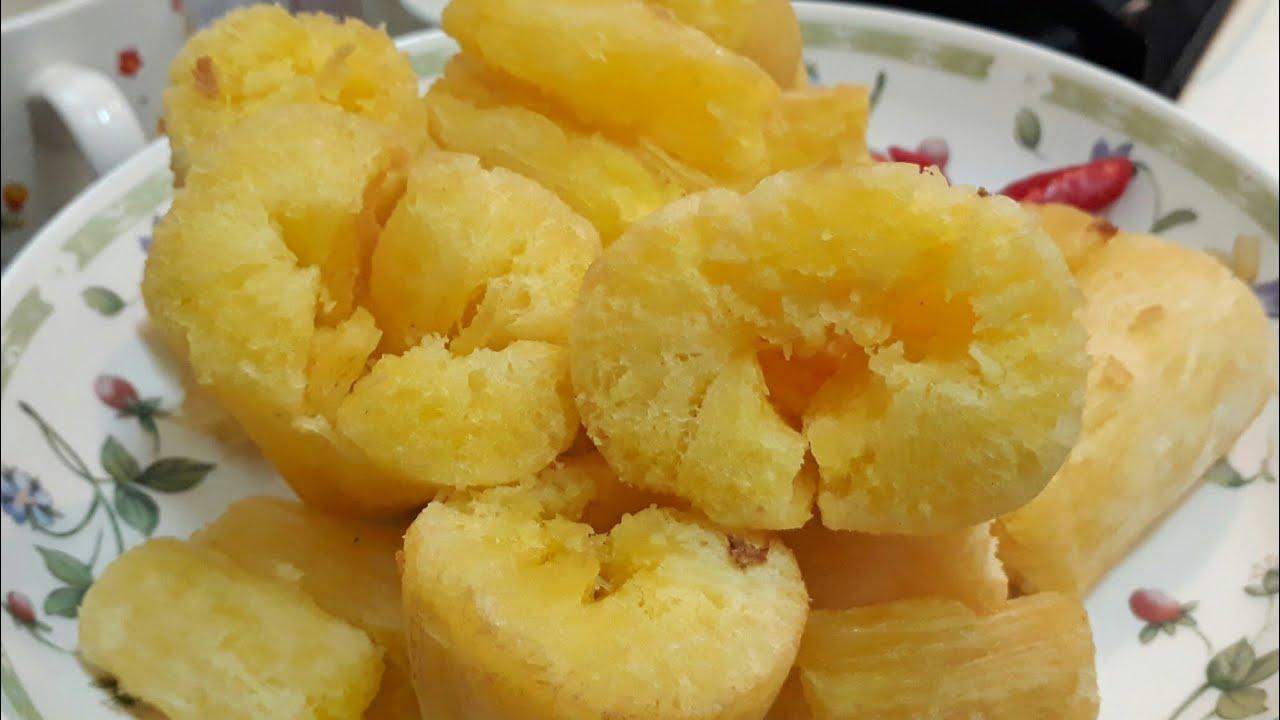 Resep Singkong Crispy Merekah