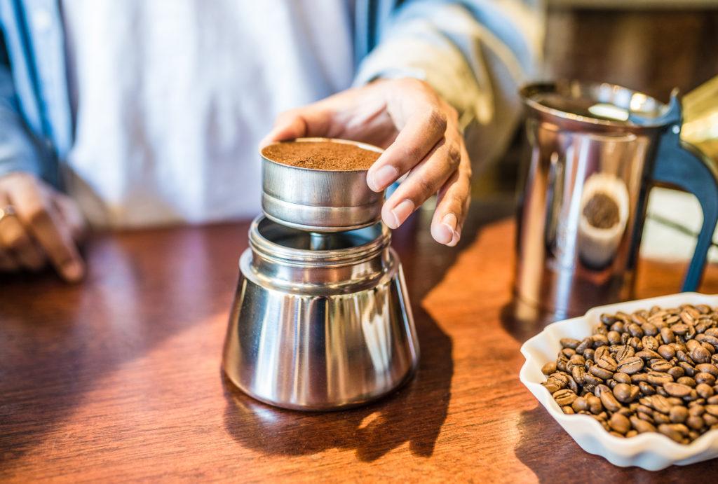 resep espresso mokapot