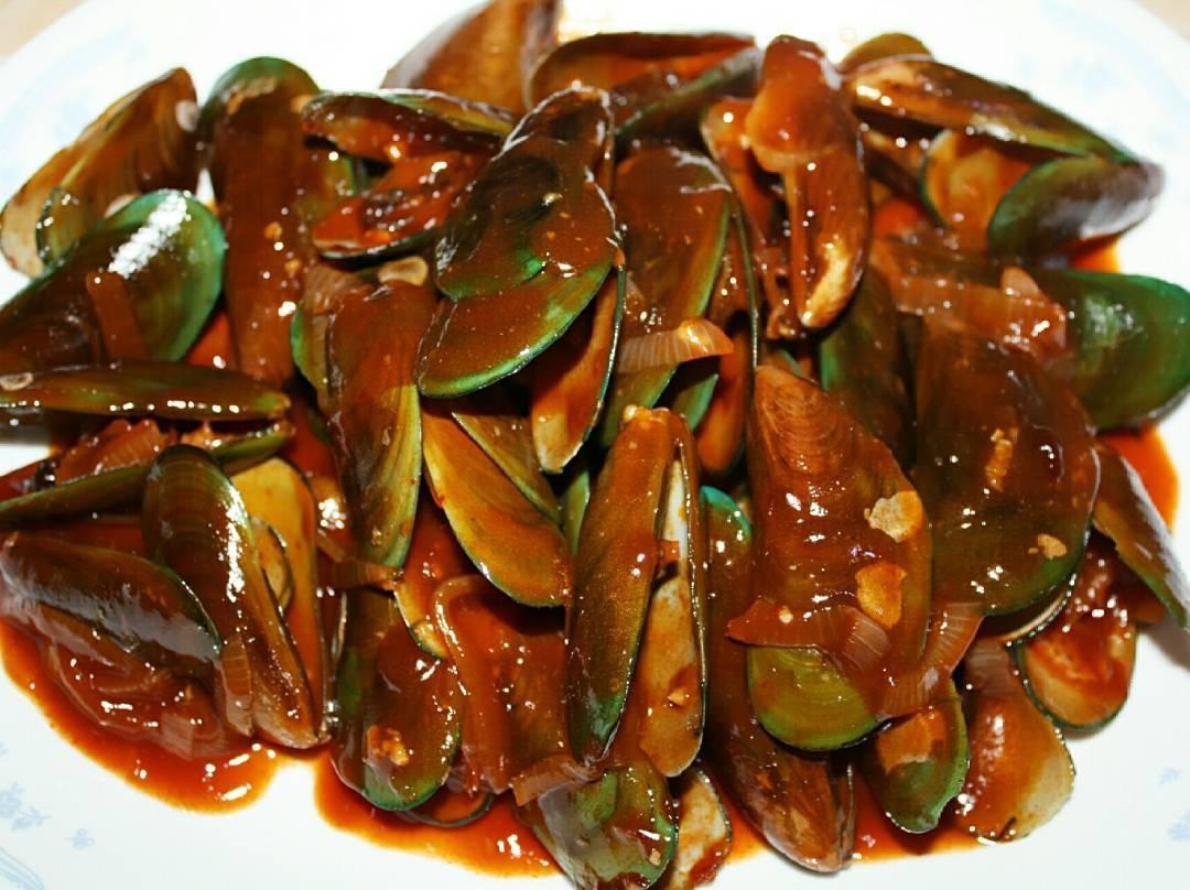 cara masak kerang hijau asam manis